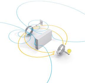 无线充电的原理示意图