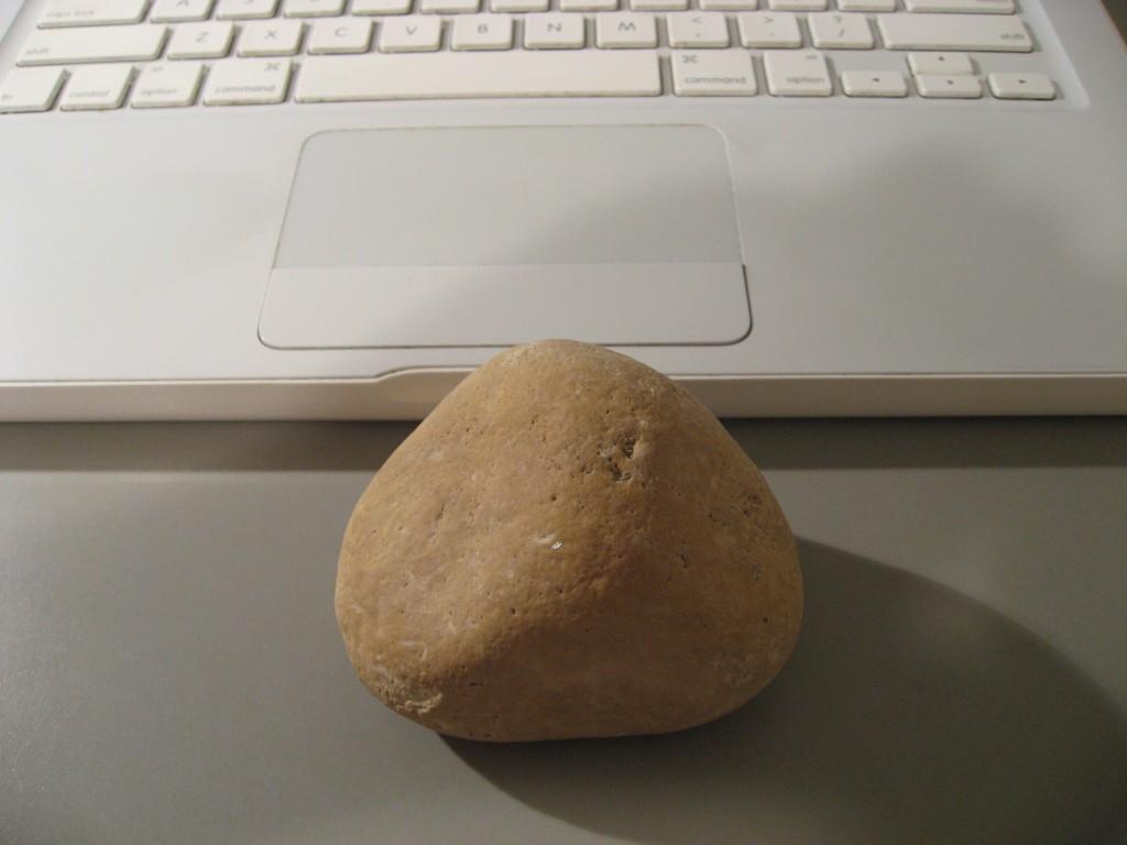 放学回家路上捡的石头