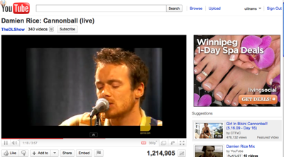 youtube-screen-cannonball