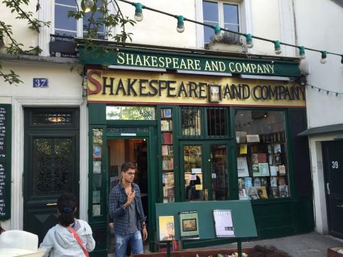 销售莎士比亚著作的书店