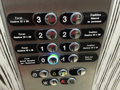 巴黎 Bestern-Western 酒店的电梯